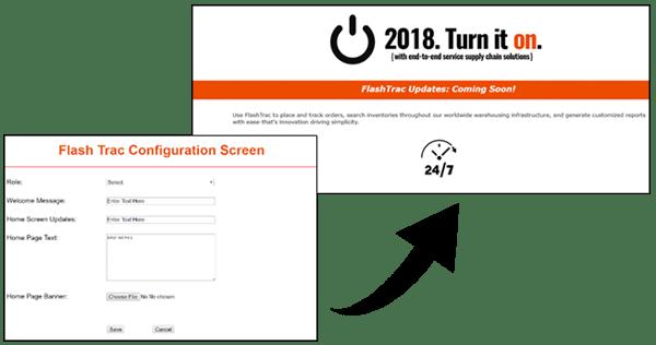 FlashTrac Configuration Screens