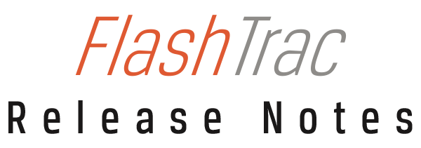 FlashTrac Release Notes-1